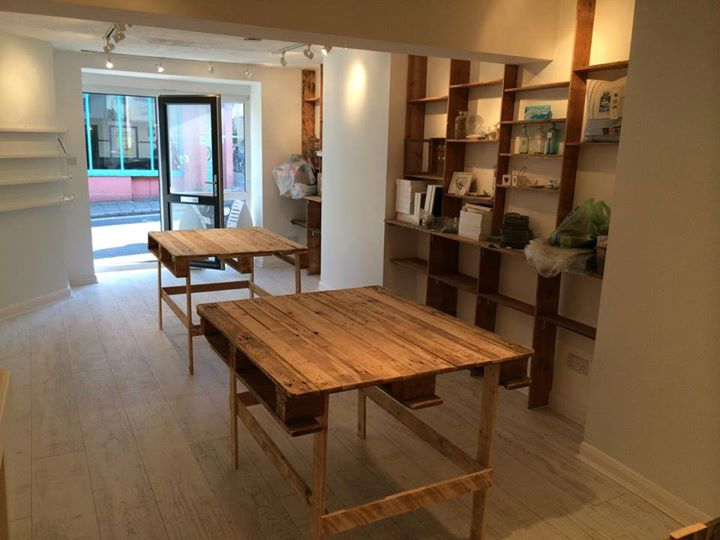 Shop Powered With Wood Pallets Pallet Ideas