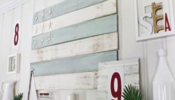 Wall Art Inspirations with Wood Pallets