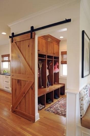 Wood Pallets Door