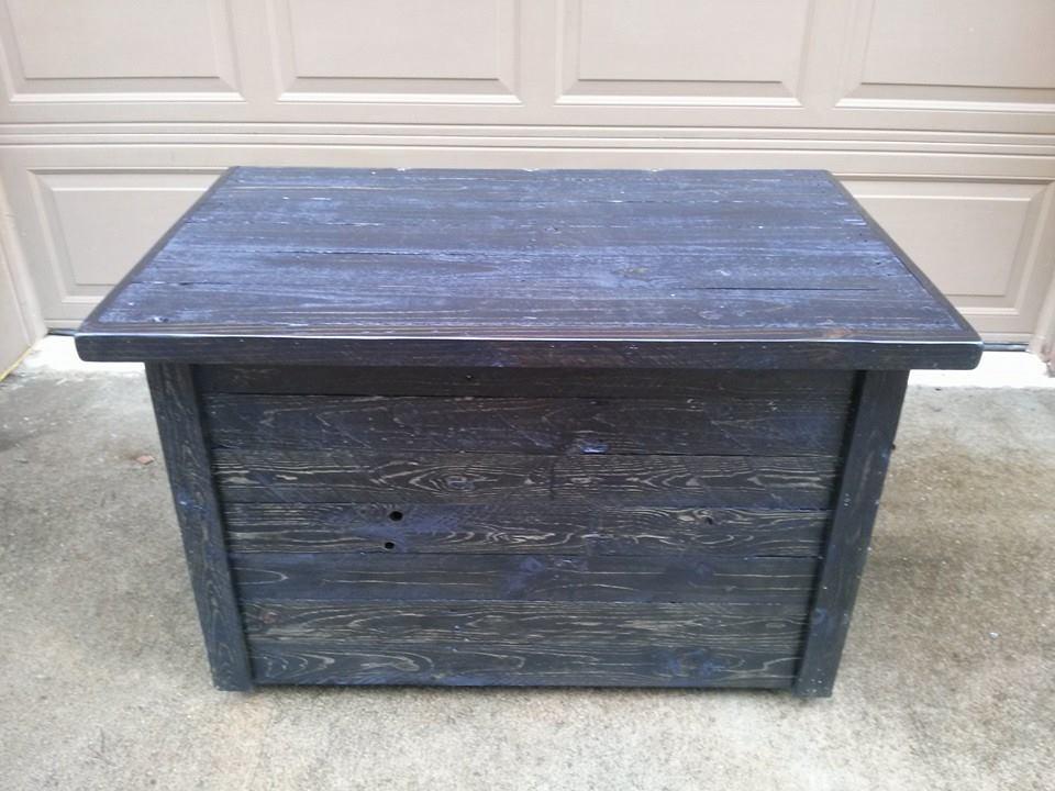storage box cum table