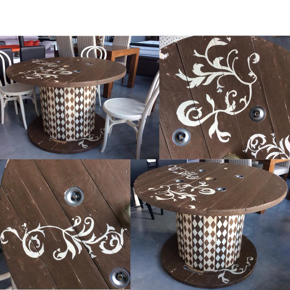 Cute Cable Drum Recycling Ideas