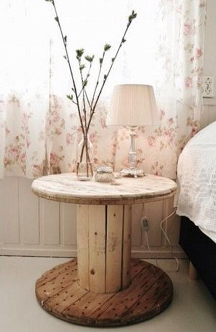 Cute Cable Side Table