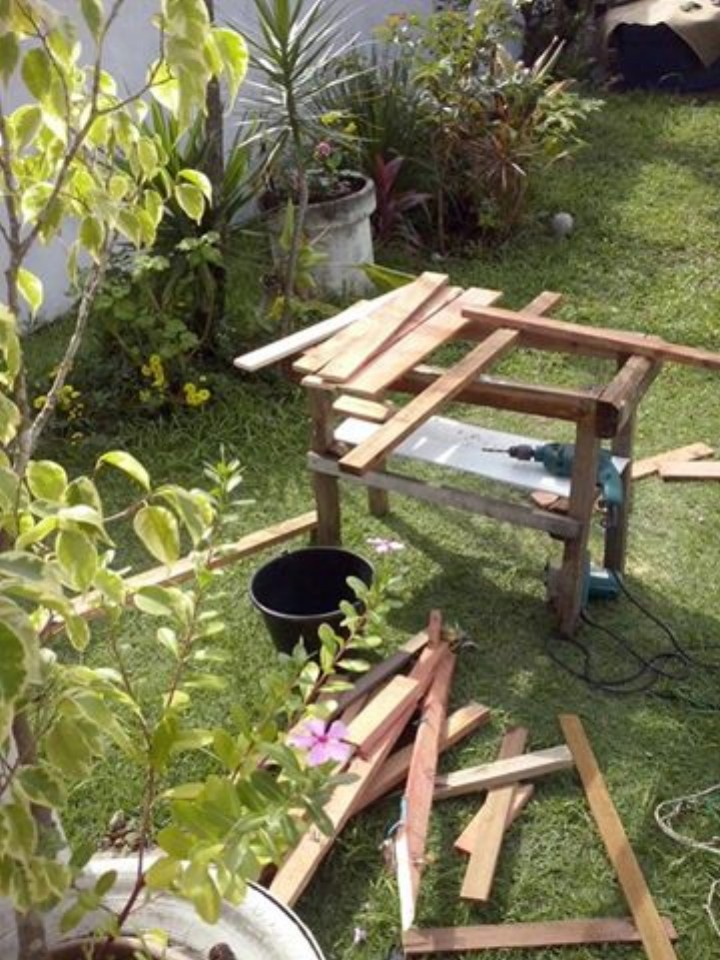 Diy Garden Bench With Wood Pallets Pallet Ideas