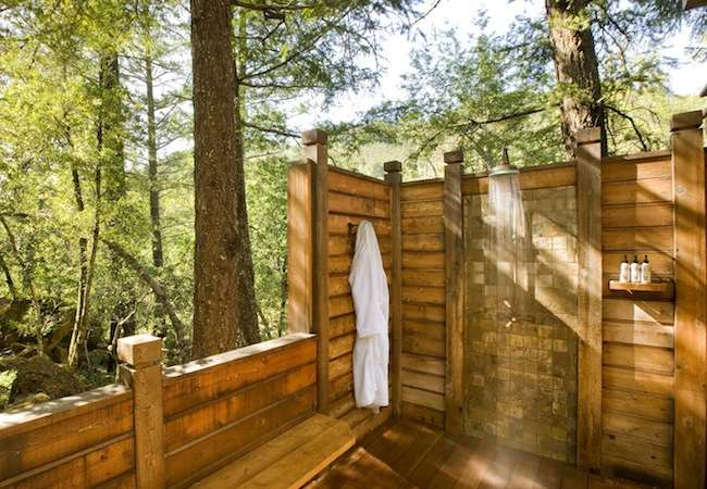 Outdoor Bathing Shower Ideas