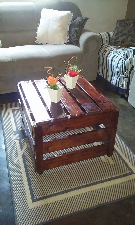 Coffee Table Made With Pallets Wood Pallet Ideas