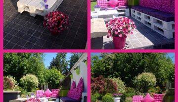 Pallets Made Patio Garden Set