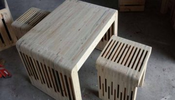 Pallets Creations at Showroom in Malaysia