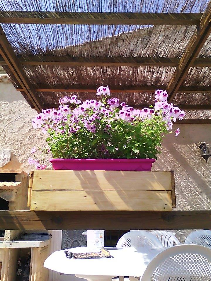 Pallets Made Garden Flower Decor Planter Box Pallet Ideas