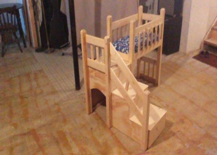 pallet dog bed instructions