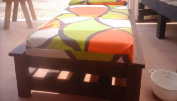 Pallets Made Sun Bed