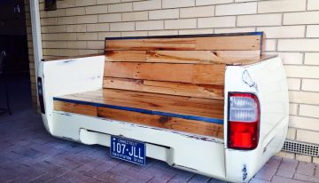 Pallets Plus Vehicle Upcycled Couch