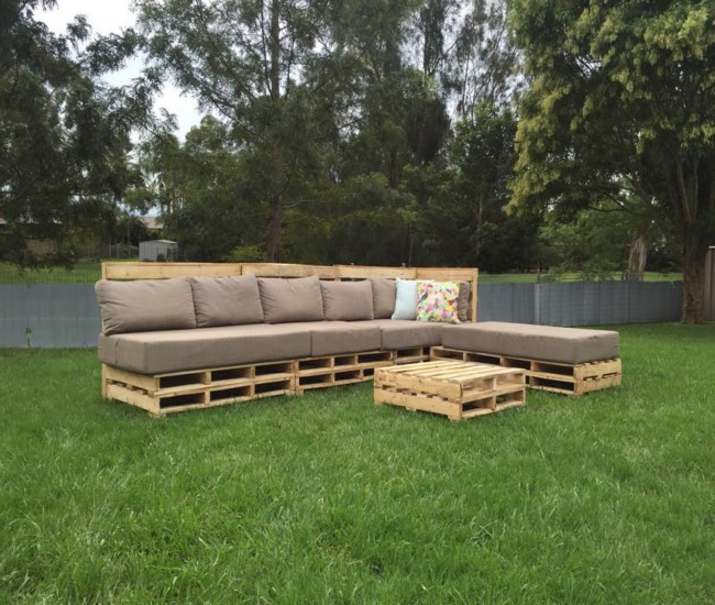 Patio Pallets Coffee Table