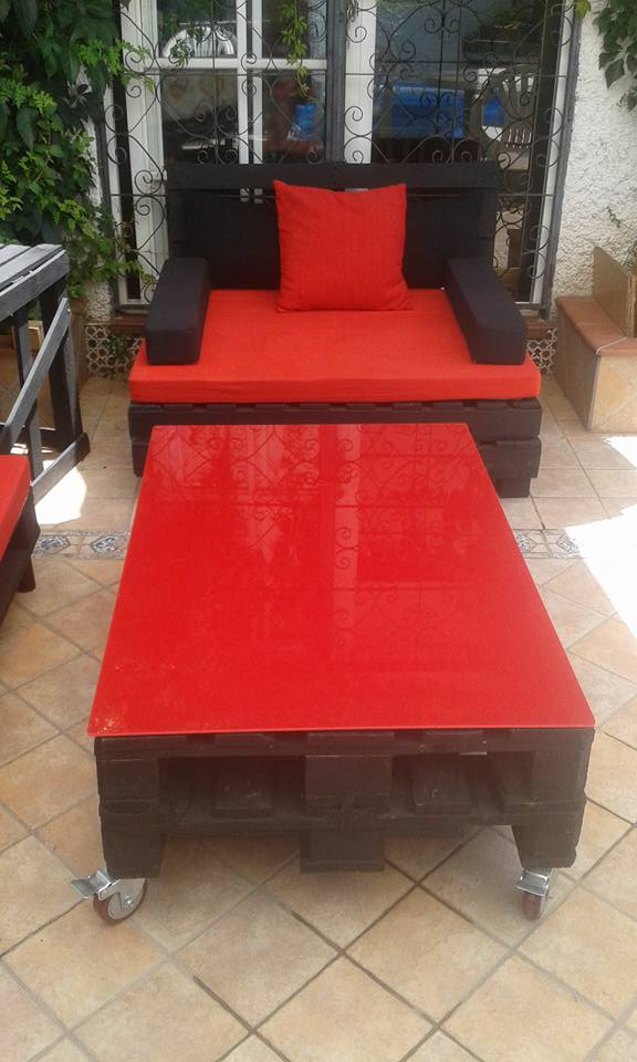 Bright Patio Pallets Couches With Coffee Table Pallet Ideas