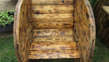 Cable Reel Pallets Seating Creations