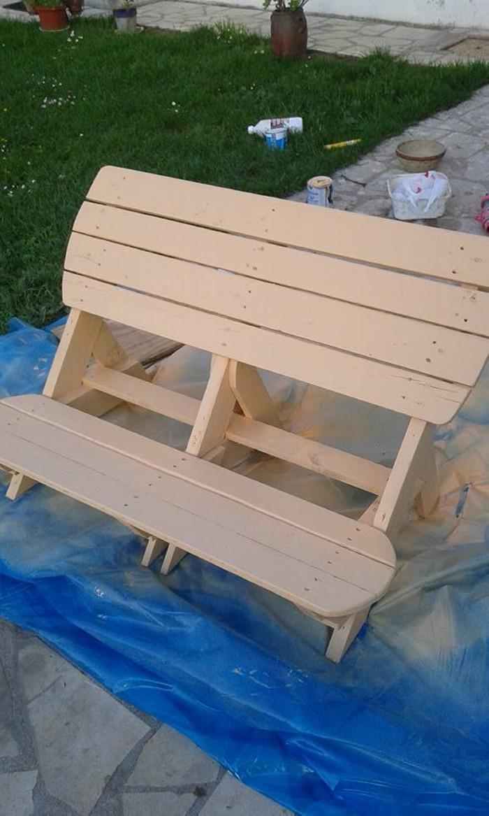 Diy Cute Pallets Made Garden Bench Pallet Ideas