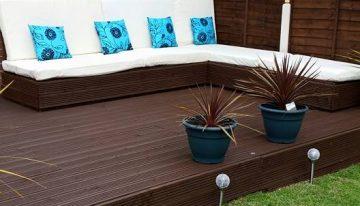 DIY Garden Deck / Furniture with Pallets Wood