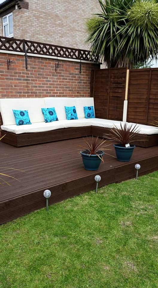 Diy Garden Deck Furniture With Pallets Wood Pallet Ideas