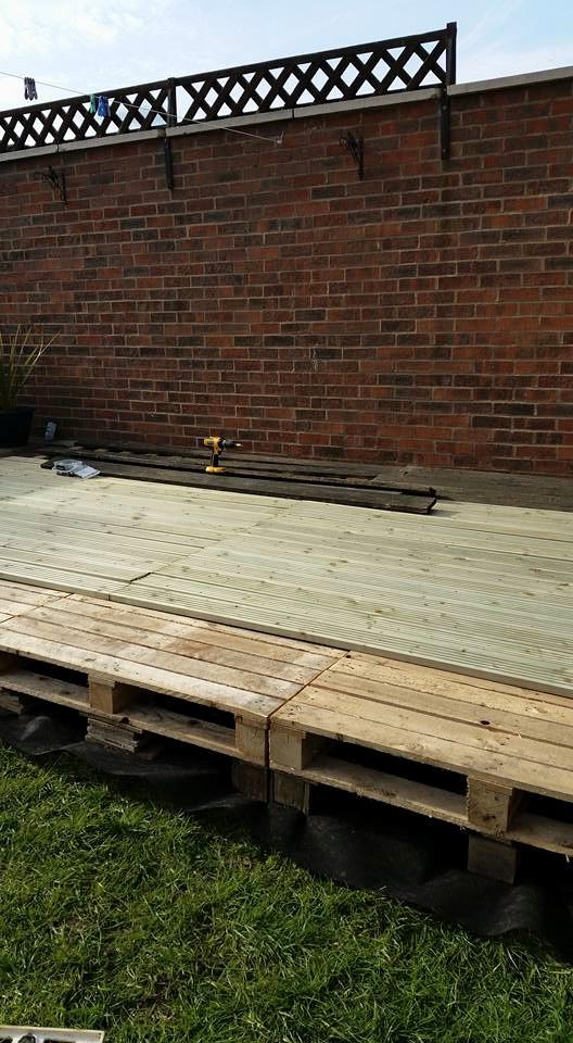 Diy Garden Deck Furniture With Pallets Wood Pallet Ideas