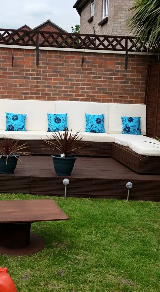 ... DIY Garden Furniture With Pallets Wood ...