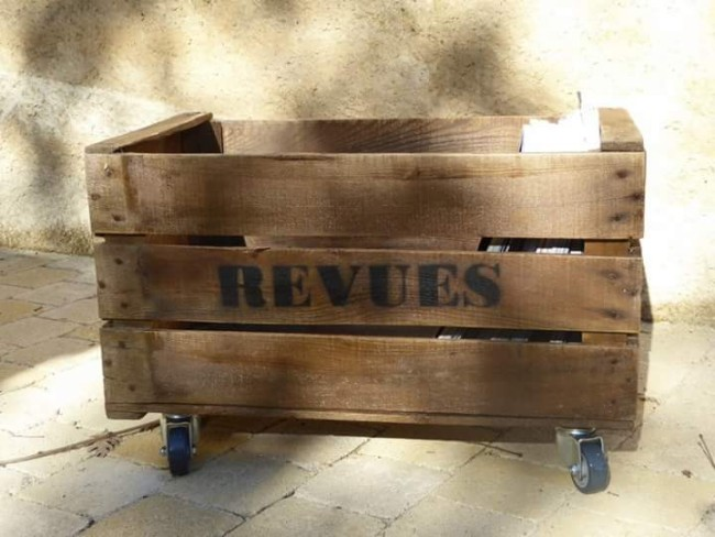 Old apple crates upcycled pallet ideas recycled for How to make apple crates