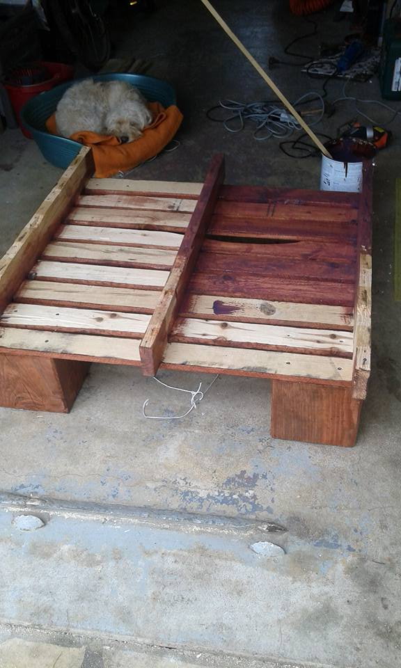 Diy Outdoor Pallets Table Pallet Ideas