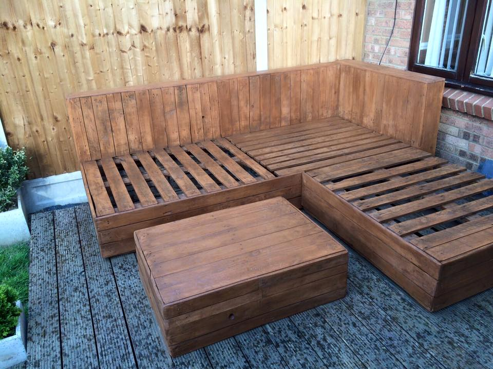 DIY Pallet Corner Sofa Ideas Recycled Upcycled Pallets