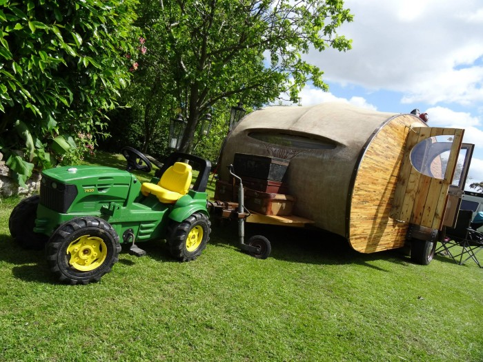 Pallet Made Tear Drop Trailers