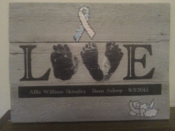 Pallet Wood Baby Memory Plaque Pallet Ideas