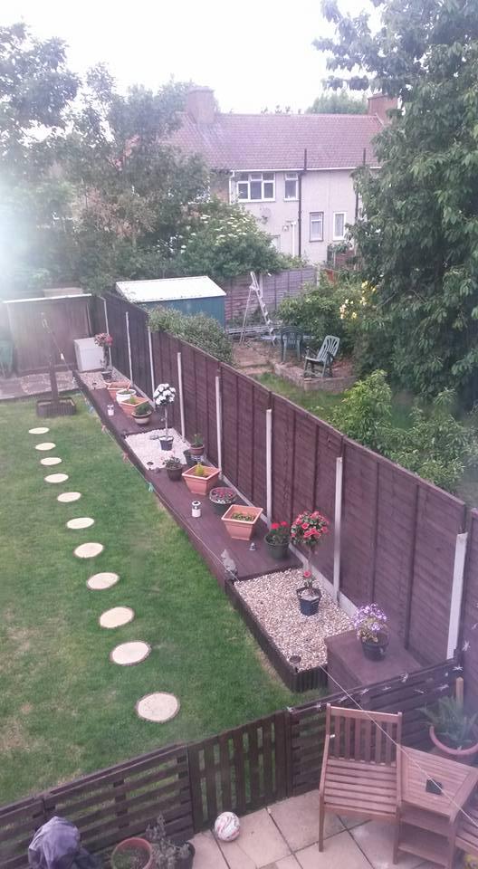 Pallets Powered Garden Pallet Ideas
