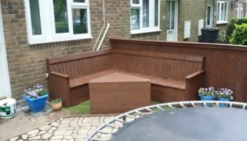Pallets Garden Fence and Furniture