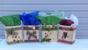 Pallet Wooden Gift Boxes