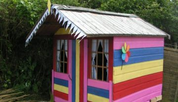 Old Shed Revamp to Pear Tree Cottage