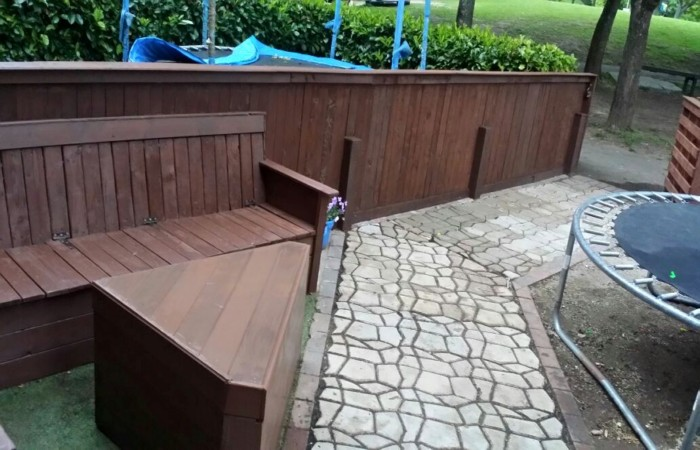 Pallets Garden Fence And Furniture Pallet Ideas