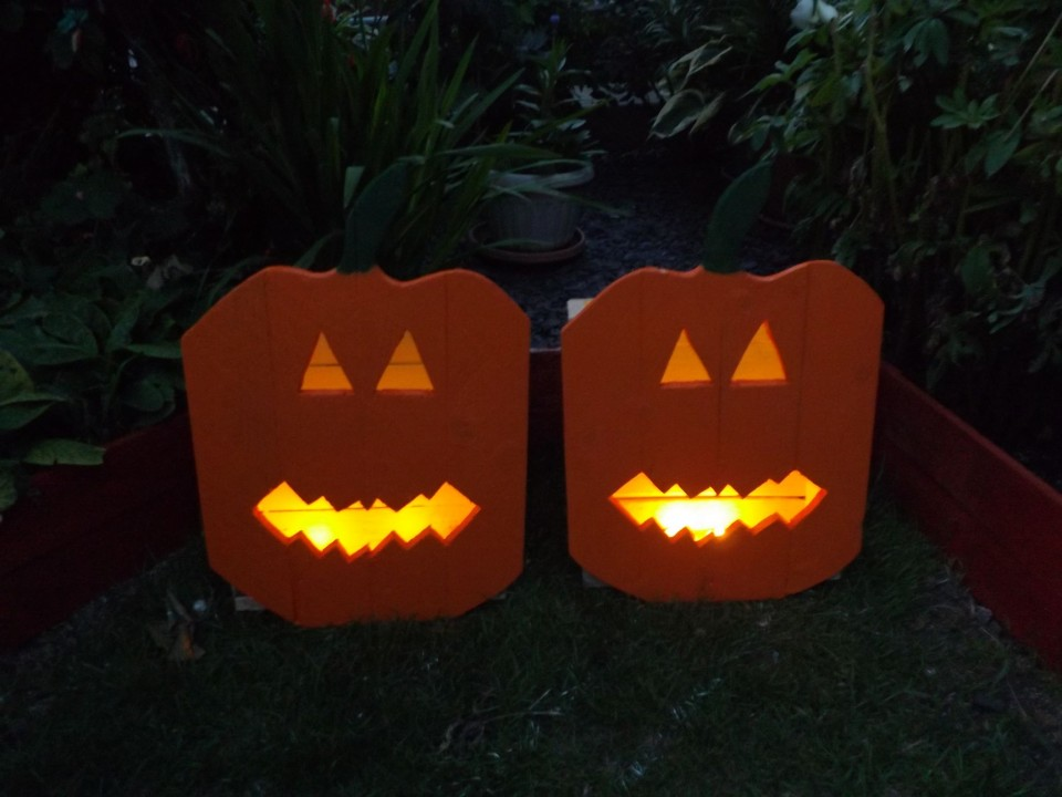 Wood Pumpkins Garden Crafts Out Of Pallets Pallet Ideas Recycled Upcycled Furniture