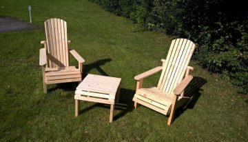 Hand Made Pallets Garden Furniture