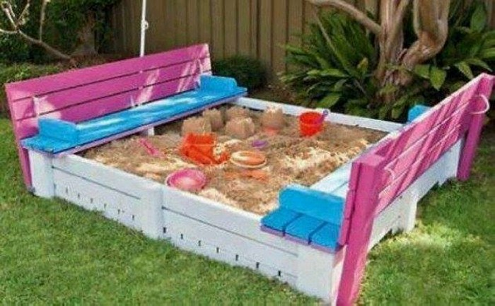 Cute pallet projects for kids pallet ideas recycled for Craft ideas using pallets