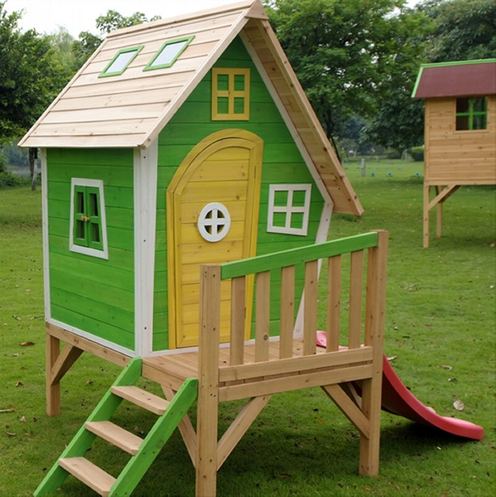 Cute pallet projects for kids pallet ideas recycled for Simple outdoor playhouse plans