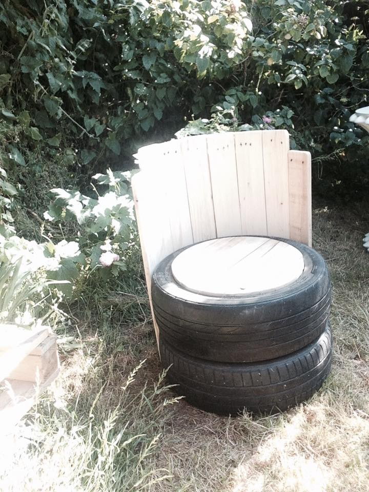 old tires with pallets wood outdoor chair pallet ideas Furniture Made From Wooden Pallets Patio Furniture Made Out of Pallets