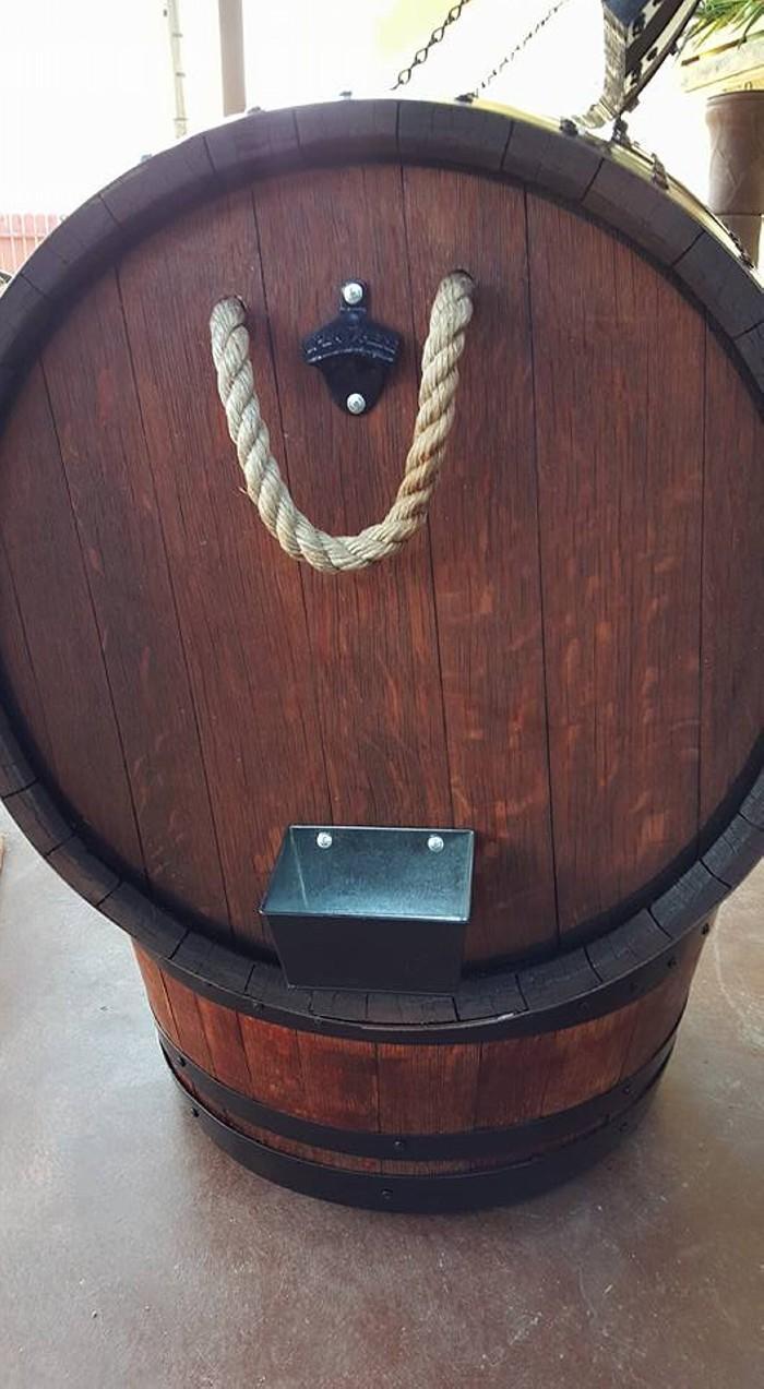 Wine Barrel Ice Chest Pallet Ideas