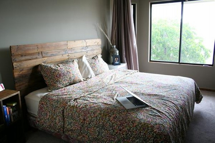 Cozy Pallet Headboard Ideas Pallet Ideas Recycled Upcycled Pallets Furniture Projects