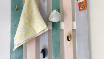 Wood Pallet Made Hanger