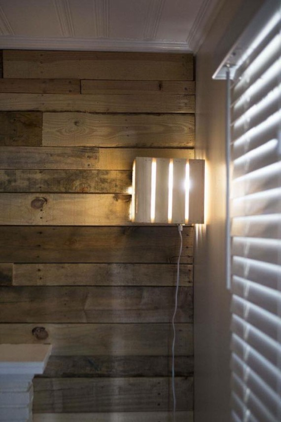 Pallet Lamp Ideas Pallet Ideas