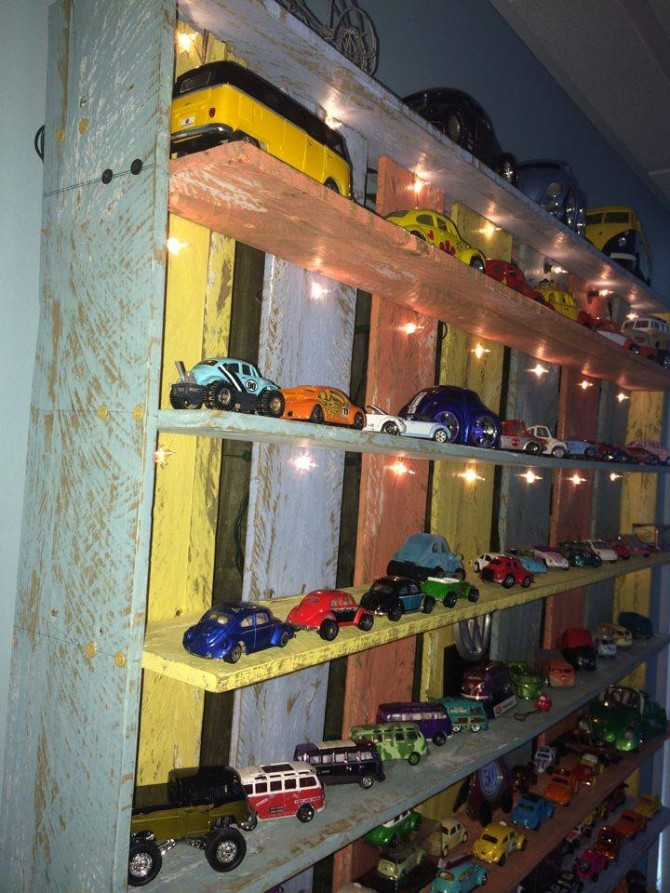 Pallet Wood Kids Toys Shelf Pallet Ideas