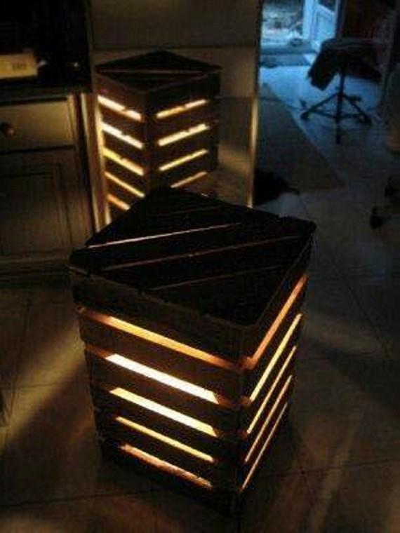 Wood Lamp Shade Diy
