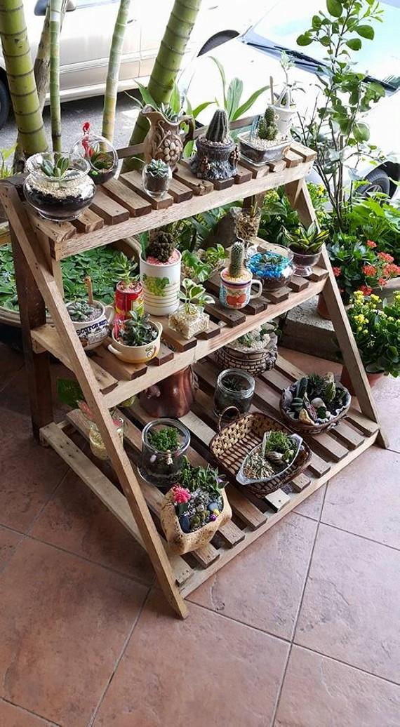 DIY Pallet Planter Garden Decor | Pallet Ideas