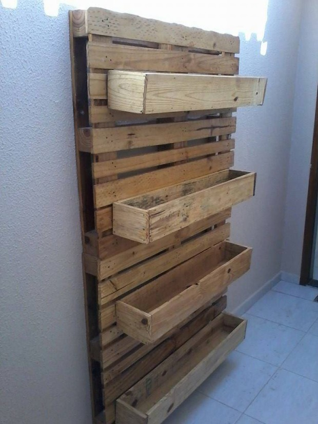 Stunning Pallet Wall Planter Projects Pallet Ideas