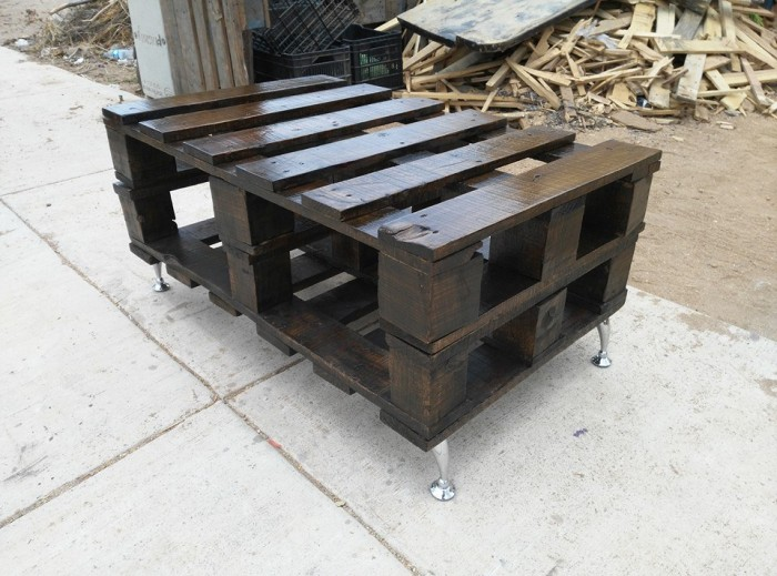 Pallets Wood Made Rustic Coffee Table Pallet Ideas Recycled Upcycled Pallets Furniture