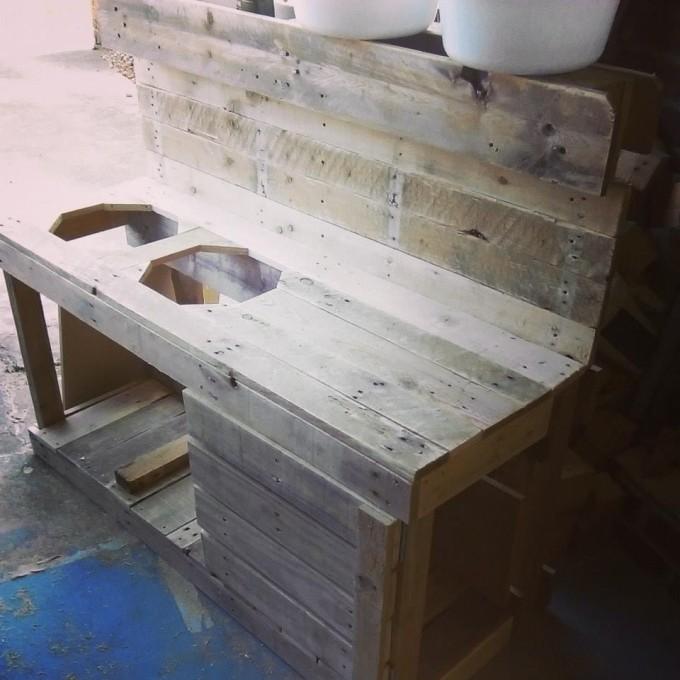 Pallet Mud Kitchen Pallet Ideas