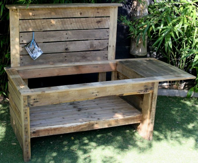 Pallet mud kitchen pallet ideas recycled upcycled for Pallet kitchen ideas