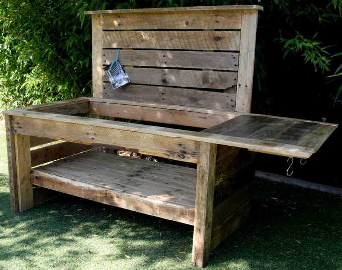 Pallet Mud Kitchen Ideas Recycled Upcycled